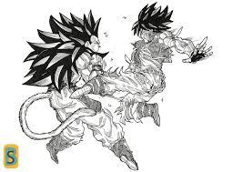 dragon ball goku super saiyan god ziga 13 deviantart
