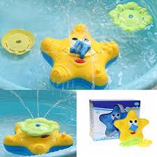 amazon com littlepig baby bath toy starfish floating bathtub