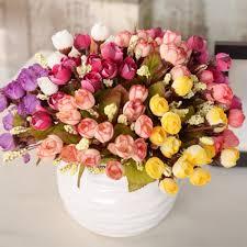 Rose Home Decor 100 Fake Flowers For Home Decor Amazon Com 10 Bunch
