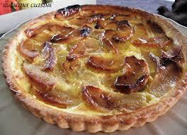 cuisine normande tarte normande aux pommes guiguine cuisine