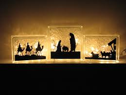 presépio silhueta natal pinterest christmas nativity
