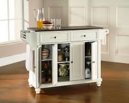 kitchen island with stainless top portable kitchen island stainless steel top cabinets beds