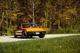 porsche 914 yellow collectible classic 1970 1976 porsche 914