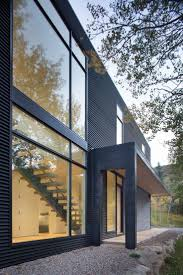 Mountain Home Exteriors 211 Best Black Houses Images On Pinterest Black House