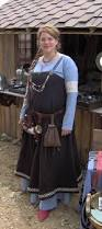 blue and brown viking dress pretty sca norse viking