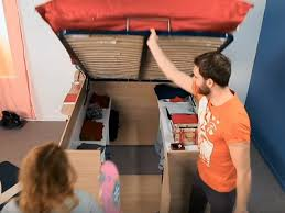 parisot space up bed has incredible storage business insider