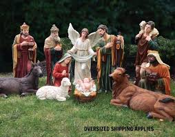 nativity outdoor church clerical church statuary nativity sets nativity