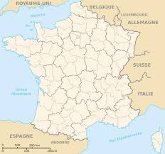 Maps France by Departements De France Map U2022 Mapsof Net