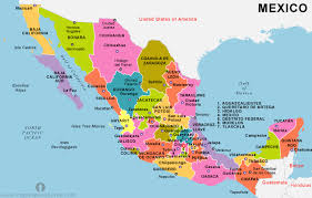 map of the mexico free mexico political map political map of mexico political