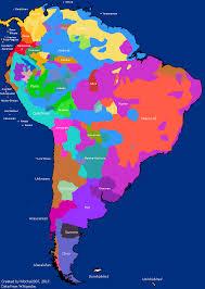 Language Map Of America by Maptitude U2014 Language Families Of Pre Columbian South America