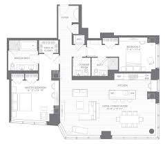 Powder Room Layouts Millennium Tower Luxury Condos Boston