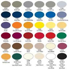 tuscan paint color chart krylon indoor outdoor paint ideas for