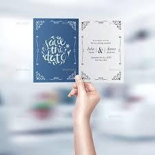 E Card Invite Invitation U0026 Greeting Card Mockup Vol 2 By Goner13 Graphicriver