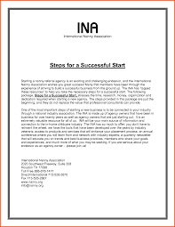 short nanny cover letter job and resume template