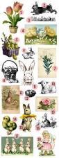 free easter printable u0026 vintage clip art u2013