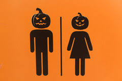 Male Female Bathroom Signs by Delectable 25 Bathroom Sign Halloween Decorating Design Of Best