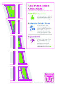 Purple Paint Law by New Zones Painted In Times Square To Regulate Costumed Characters