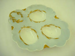 egg plate haviland limoges egg tray plate dish antique porcelain