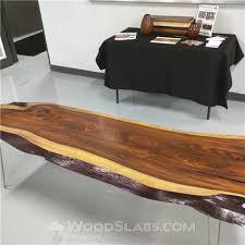 Walnut Slab Table Woodslabs Com Wood Slab Table Diy