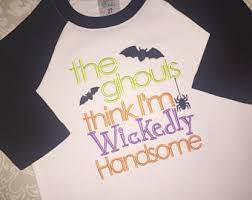 boys halloween shirt all the ghouls love me shirt toddler