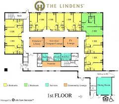 facility floor plan assisted living facility floor plans google search senior