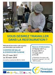 formation commis de cuisine bruxelles molenbeek formation asbl home