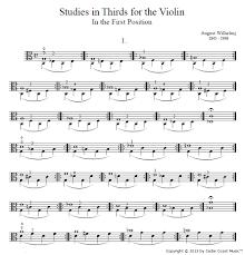 Violin Cover Sheet Music by Sheet Music Cedar Coast Music