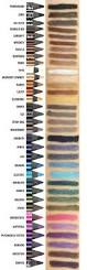 shades of purples urban decay 24 7 glide on eye pencil review u0026 comparison swatches