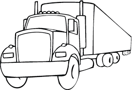 drawn truck simple pencil color drawn truck simple