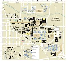 Coors Field Map Cu Campus Map University Of Colorado Online Visitor U0027s Guide