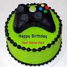 cakes for boys write name on microsoft xbox birthday cakes for boys