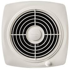 broan 509 through wall fan 180 cfm 6 5 sones white square