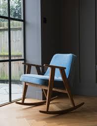 Oak Rocking Chair Uk Jozef Chierowski 366 Rocking Chair Velvet At Rose U0026 Grey