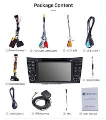 android sat navi audio system mercedes benz clk w209 dvd player