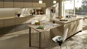 cuisine ilot table beautiful image de salle a manger 4 d233co cuisine ilot central