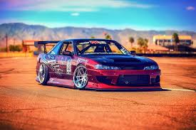 nissan race car nissan silvia s14 race car sun hd wallpaper