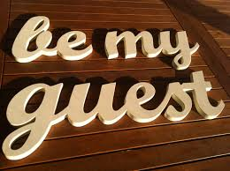 be my guest wall decor be my guest handmade wood sign