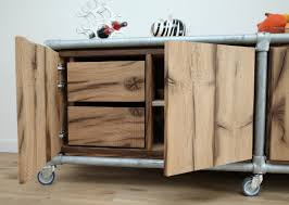 Kitchen Cabinet Clamps Old Oak Sideboard Or Combined With Galvanized Kee Klamp Fittings