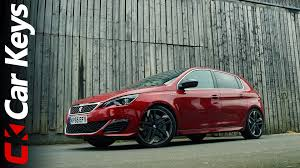 peugeot leasing europe reviews peugeot 308 gti 2016 review car keys youtube