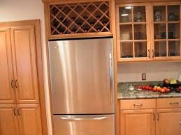 wine rack for unused space over the refrigerator remove the