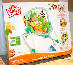 Baby Rocking Chair Jax Rocks With Bright Starts 3 In 1 Baby To Big Kid Rocker Yay Baby