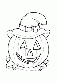free printable halloween coloring pages kids intended