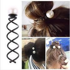 hair spirals twist hair pins ebay