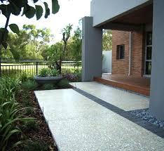 Exposed Aggregate Patio Stones Best 25 Exposed Aggregate Ideas On Pinterest Landscape Design