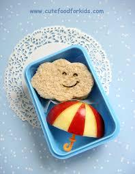 cute food for kids healthy snack idea apple umbrella