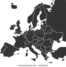 map of euorpe europe map stock images royalty free images vectors