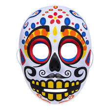 day of the dead masks day of the dead white mask accessories uk