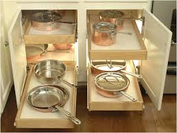 kitchen cabinet organizers for pots and pans pot and pan cabinet organizer glideware pull out cabinet organizer