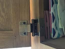 1 pair kitchen cupboard cabinet lift up flap top door hinge all