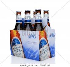 busch light calories and carbs michelob ultra six pack side end image photo bigstock